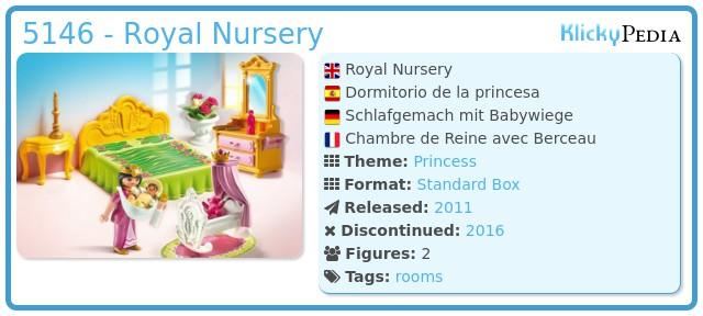 Playmobil 5146 - Royal Nursery