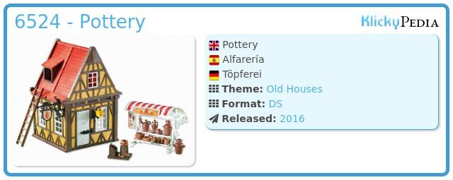 Playmobil 6524 - Pottery
