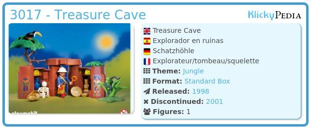 Playmobil 3017 - Treasure Cave