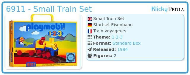 Playmobil 6911 - Small Train Set