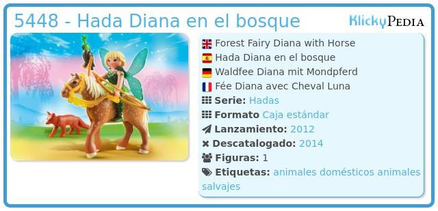 Playmobil 5448 - Hada Diana en el bosque