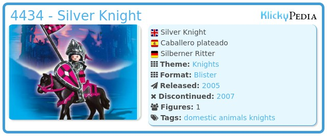 Playmobil 4434 - Silver Knight