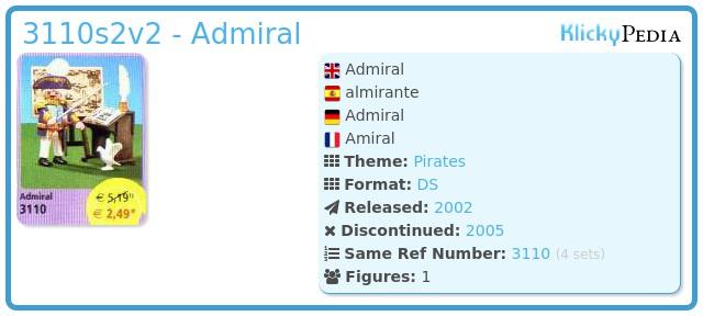 Playmobil 3110s2v2 - Admiral