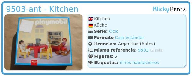 Playmobil 9503-ant - Kitchen