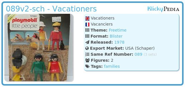 Playmobil 089v2-sch - Vacationers