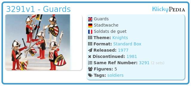 Playmobil 3291v1 - Guards