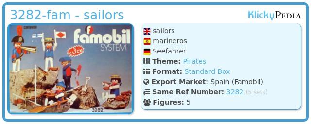 Playmobil 3282-fam - sailors