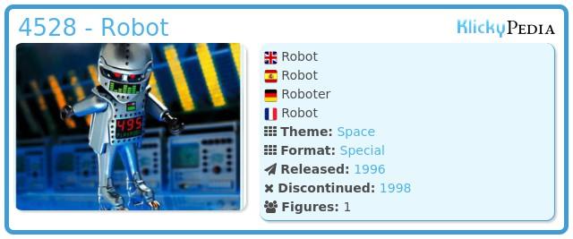 Playmobil 4528 - Robot