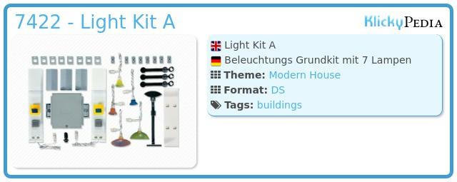 Playmobil 7422 - Light Kit A