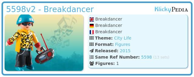Playmobil 5598v2 - Breakdancer