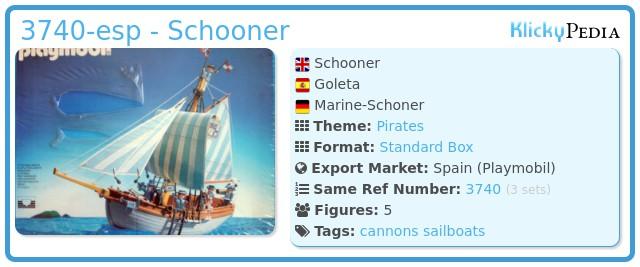 Playmobil 3740-esp - Schooner