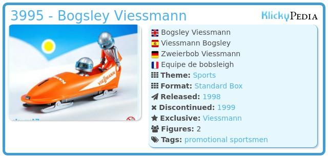Playmobil 3995 - Bogsley Viessmann