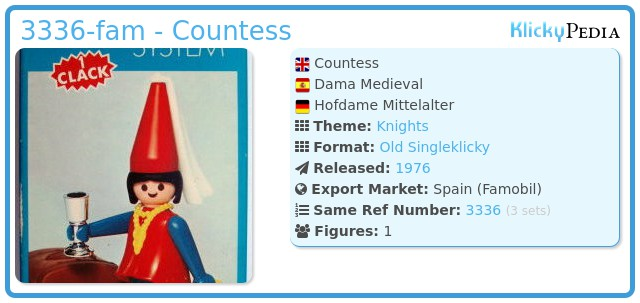 Playmobil 3336-fam - Countess