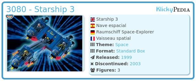 Playmobil 3080 - Starship 3