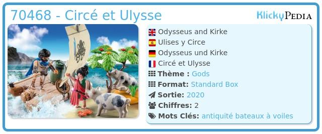 Playmobil 70468 - Circé et Ulysse