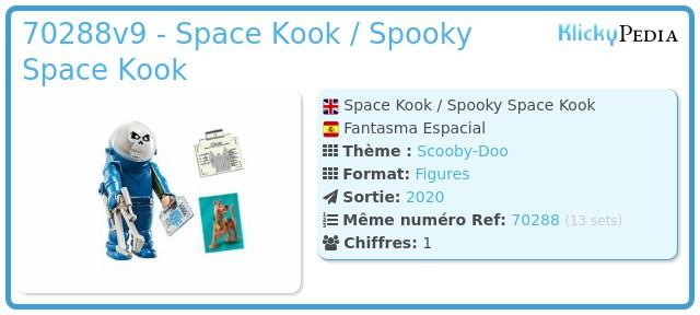 Playmobil 70288v9 - Space Kook / Spooky Space Kook