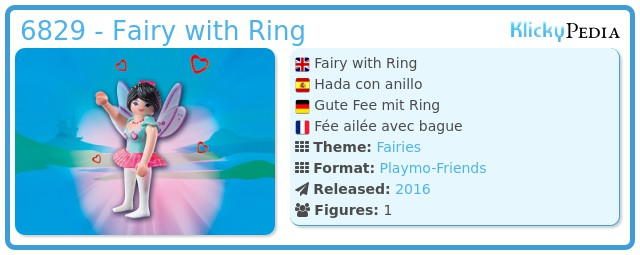 Playmobil 6829 - Fairy with Ring