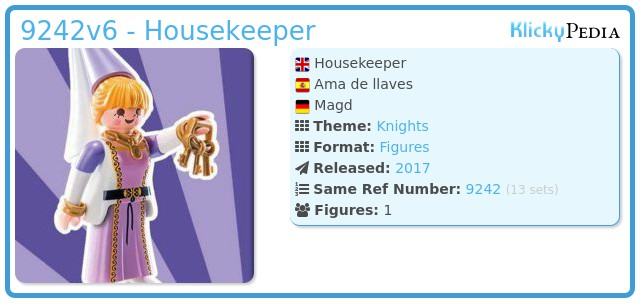 Playmobil 9242v6 - Housekeeper