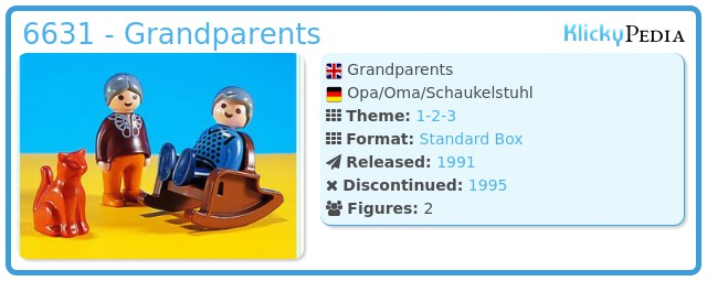 Playmobil 6631 - Grandparents