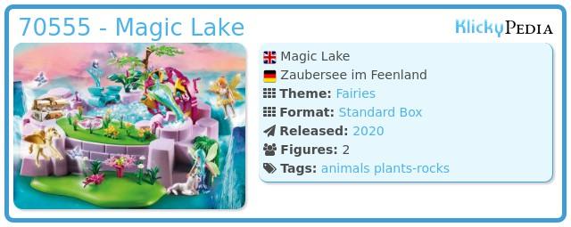 Playmobil 70555 - Magic Lake