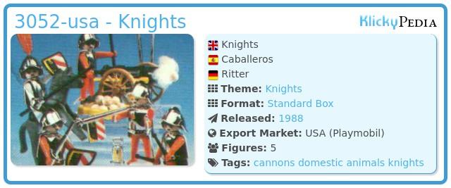 Playmobil 3052-usa - Knights