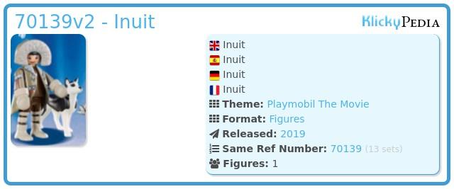 Playmobil 70139v2 - Inuit