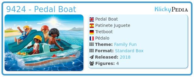 Playmobil 9424 - Pedal Boat