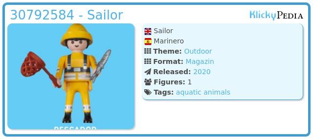Playmobil 30792584 - Sailor