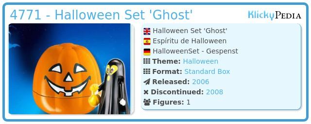 Playmobil 4771 - Halloween Set 'Ghost'