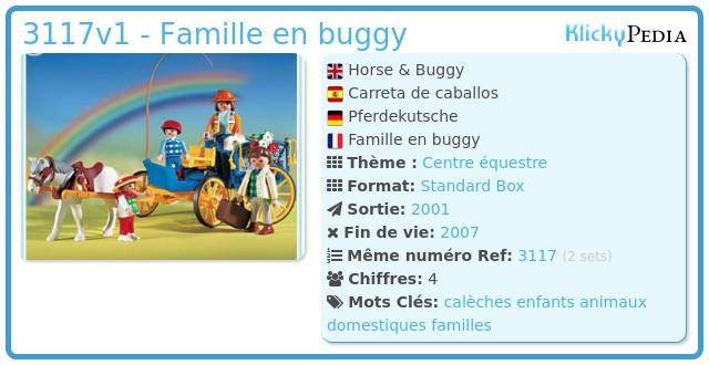 Playmobil 3117v1 - Famille en buggy