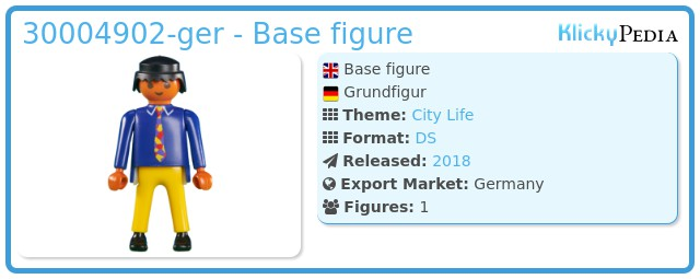 Playmobil 30004902-ger - Base figure