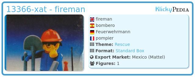 Playmobil 13366-xat - fireman