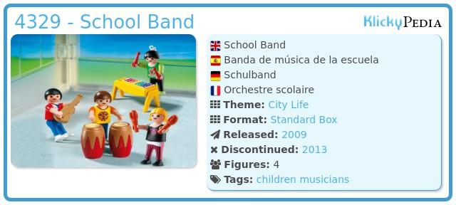 Playmobil 4329 - School Band
