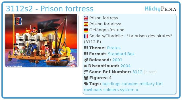 Playmobil 3112s2 - Prison fortress