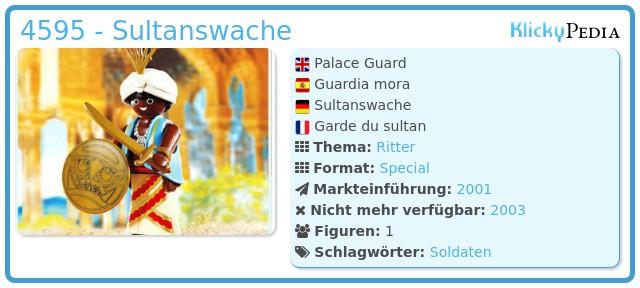 Playmobil 4595 - Sultanswache