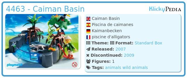 Playmobil 4463 - Caiman Basin