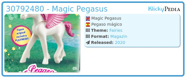 Playmobil 30792480 - Magic Pegasus