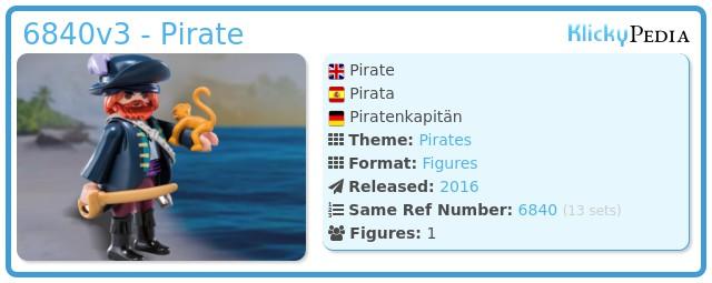 Playmobil 6840v3 - Pirate