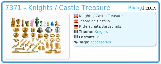 Playmobil 7371 - Knights / Castle Treasure