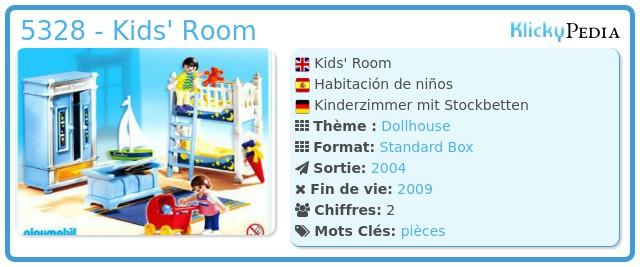Playmobil 5328 - Kids' Room