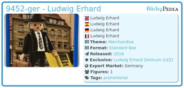 Playmobil 9452-ger - Ludwig Erhard