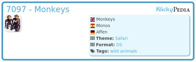 Playmobil 7097 - Monkeys
