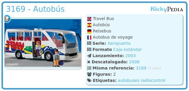 Playmobil 3169 - Autobús