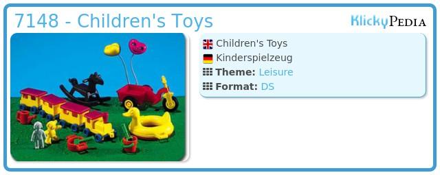 Playmobil 7148 - Children's Toys