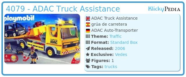 Playmobil 4079 - ADAC Truck Assistance