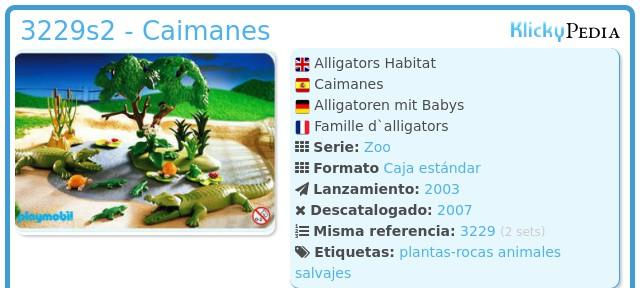 Playmobil 3229s2 - Caimanes
