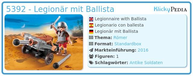 Playmobil 5392 - Legionär mit Ballista