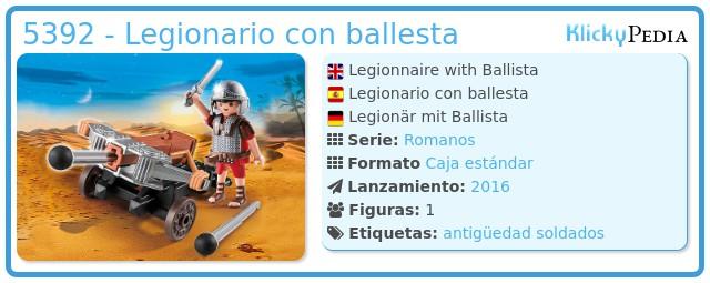 Playmobil 5392 - Legionario con ballesta