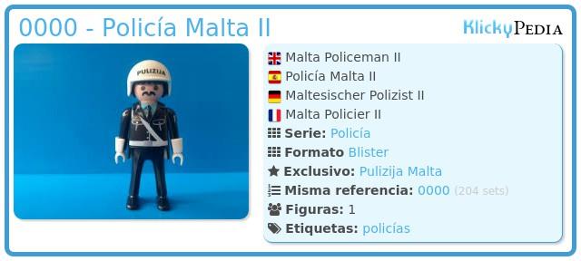 Playmobil 0000 - Policía Malta II