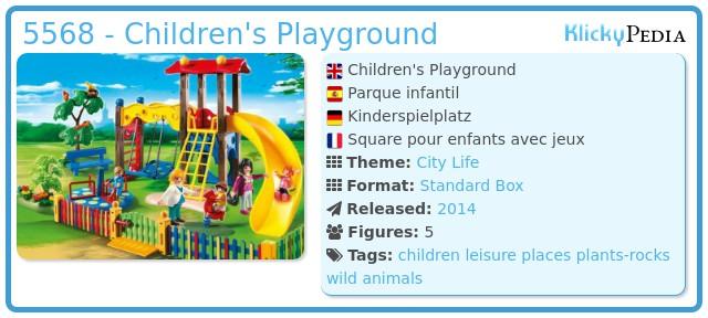 Playmobil 5568 - Children's Playground